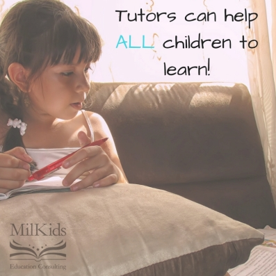 Tutors can help all children to learn!