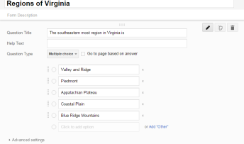 google forms create form
