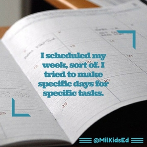 schedule it, planner, plan it, organize your classroom, milkidsed