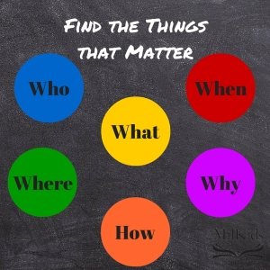 Find the Things the Matter (1)