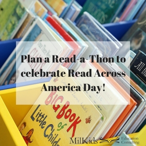 Plan a Read-a-Thon to celebrate Read Across America Day!