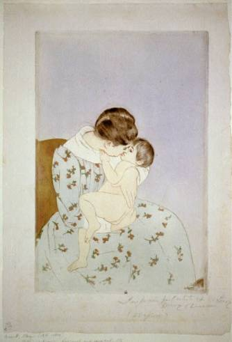 mary cassatt mother and child