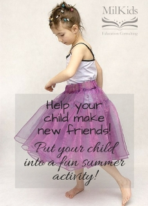 Put your child into a fun summer activity!